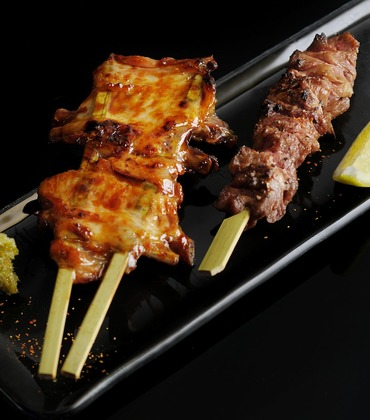 Your Choice Of Beef, Pork, Chicken or Vegetarian Kabobs