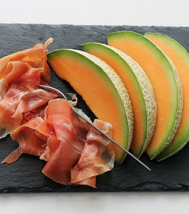 Melon and Prosciutto Appetizer