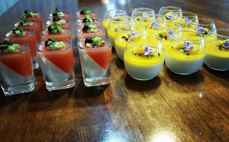 Desserts custom-made for an event