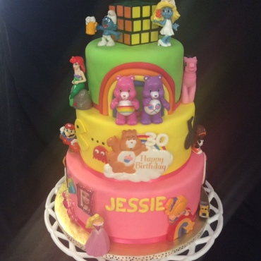 Themed Birthday Cake