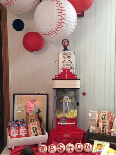 Baseball themed