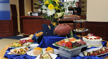 Contact us about our Florida sports team catering deals