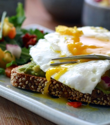 Sunny-side up eggs!